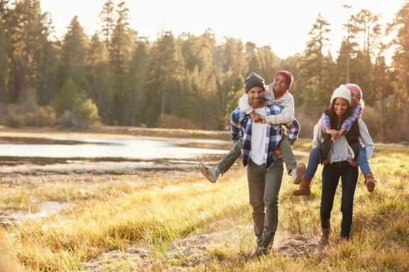 family-hiking-in-spring