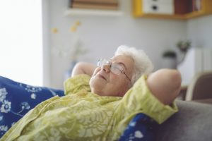 Senior-woman-relaxing